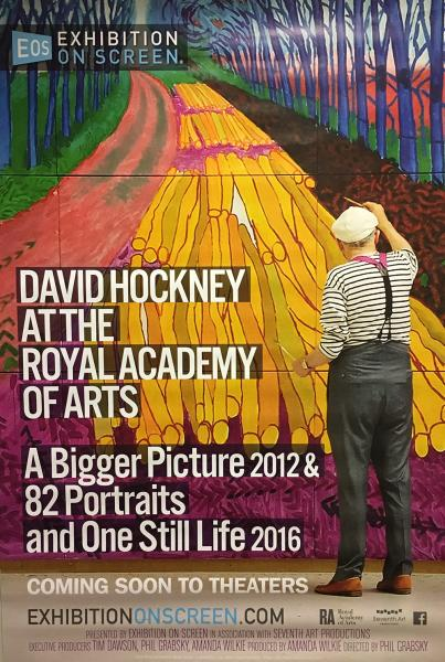 DAVID HOCKNEY DOCUMENTARY AT TRYON THEATRE